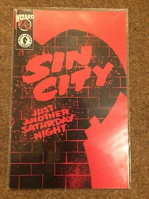 Sin City Just Another Saturday Night 1/2 Wizard Dark Horse Comics Frank Miller