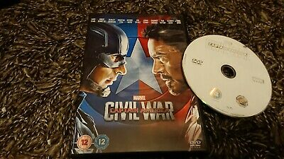Captain America: Civil War (DVD 2016) Marvel