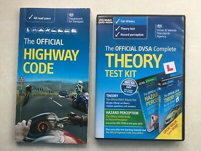 Theory Test Kit Official DVSA Complete for PC/Mac & Highway Code Book (FREE P&P)