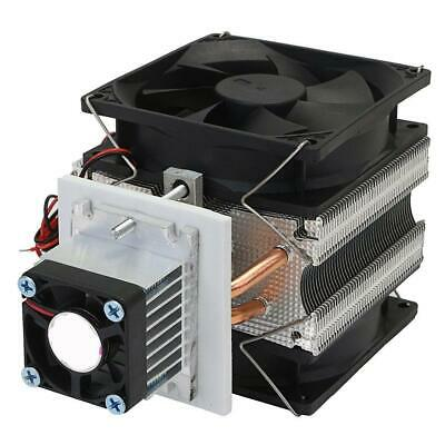 Thermoelectric Peltier Refrigeration Cooling System Kit Cooler Fan DIY 12V70W