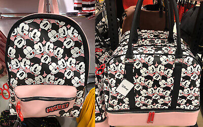 Brand New Primark Disney Mickey Mouse Weekend Bag Or Back Pack Ruck Sack