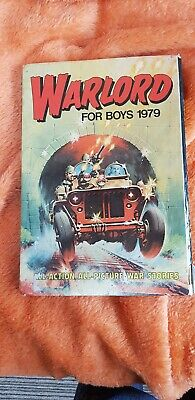 Vintage Warlord For Boys Annual 1979, Hardback Book, DC Thomson Comics.
