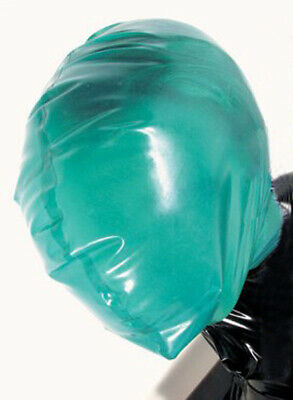 Baggy Latex Hood / Rubber Breathing Mask MK1