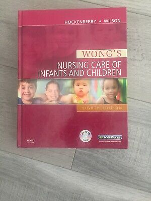 Hardback Wong's Nursing Care of Infants and Children 8th Edition Hockenberry