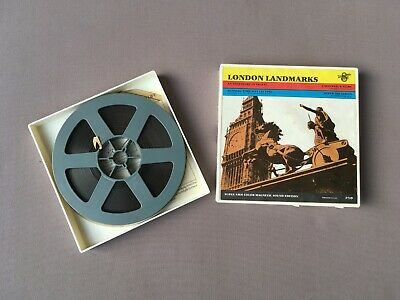 Vintage 'LONDON LANDMARKS' 8mm Film MOVIE - Universal Films, USA, 1960/70's?