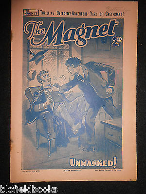 The Magnet; Billy Bunter's Own Paper - WWII Era Boy's Comic - February 17th 1940