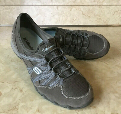 2d99c2ceae66 Ultralight Skechers Bikers Women Fashion Sneaker Size 9 Gray Blue 21139    NEW