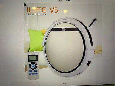 ILIFE V5S Pro Smart Cleaning Robot Auto Robotic Vacuum Dry & Wet Mopping Cleaner
