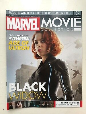 Marvel Movie Collection Issue 37 Black Widow Eaglemoss Figurine Magazine Only