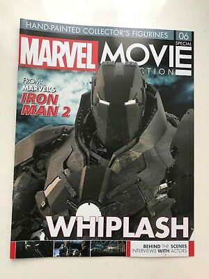 Marvel Movie Collection Special Issue 6 Whiplash Eaglemoss Figurine Magazine