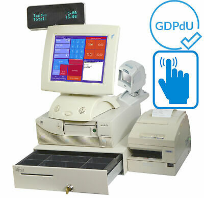 Preh Touchscreen till Cash Register System for Retail Gastronomy Receipt Printer