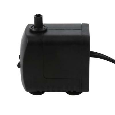 220V 15W 800L/H Submersible Water Pump USB 3W Fountain Fish Tank Pump UP