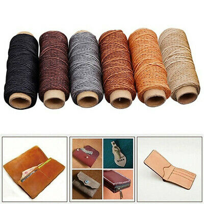 30m/roll 150D Waxed Thread Cotton Cord String Strap Hand Stitching Thread New