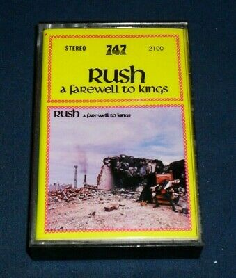 Rush: A Farewell To Kings - Cassette Tape