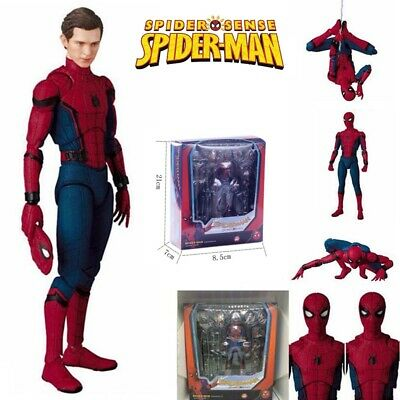 "6"" Spider-Man Homecoming Spiderman PVC Action Figure Model Kids Toy Gift Collect"