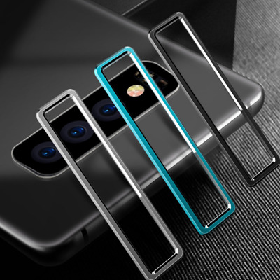 Metal Back Camera Lens Protector Rear Case Ring Cover For Samsung Galaxy S10 Lot