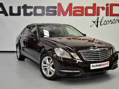 Mercedes Benz Clase E E 350 CDI 4MATIC Blue Efficiency