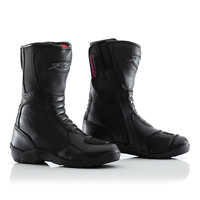 RST Tundra Ladies Leather WaterProof Riding Boots - CE APPROVED - Black