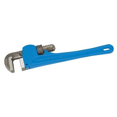 "Stillson Pumbers Pipe Wrench 10"" 250Mm Adjustable Jaw 45Mm Silverline 633620"