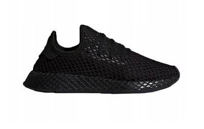 65957db93 ADIDAS DEERUPT RUNNER Trainers in Black - lightweight modern sneaker ...
