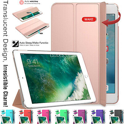 "Leather Magnetic Smart Stand Case Cover Fits Apple iPad 9.7"" Inch 5th Gen 2017"