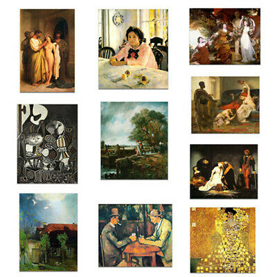 Middle Ages Canvas Oil Painting Poster Picture Art Wall Hanging Decor Unframed