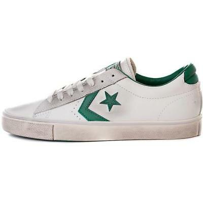 Converse All Star Ox Leather Scarpa bianco Uomo Sneaker