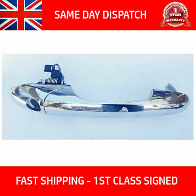 Fits Fiat 500 1.2 0.9 1.4 Diesel Lounge Right Chrome Door Handle 735592012 Rhd