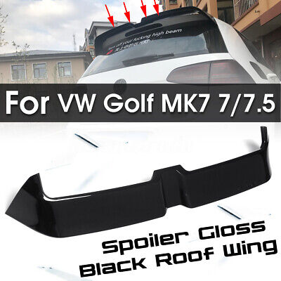 For Volkswagen VW Golf MK7/7.5 Not Fit GTI GTD R Rear Trunk Roof Wing Spoiler