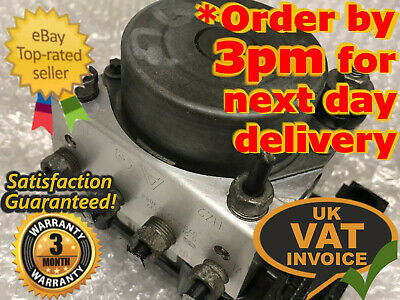 Vauxhall Corsa D ABS Pump/ECU Unit 0265231537 0265800422 13236012 AQ