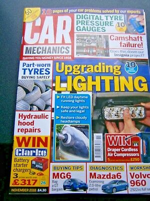 Car Mechanics Magazine November Issue 2018 (new)