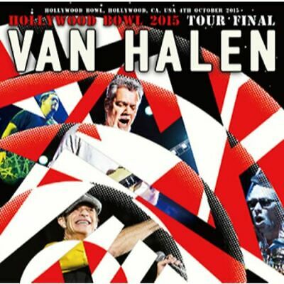 NEW VAN HALEN HOLLYWOOD BOWL 2015: TOUR FINAL 2CDR#Ke