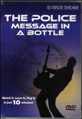 The Police Message in a Bottle Guitar Tuition DVD Andy Summers 10 Minute Teacher