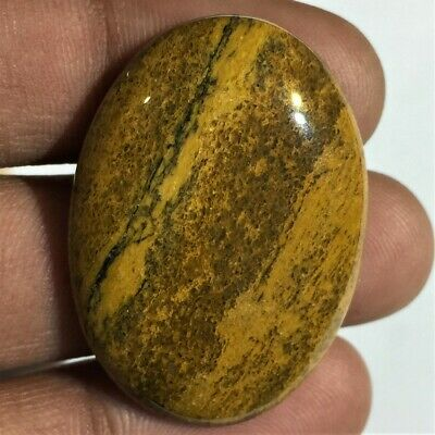 Natural Camel Jasper Gemstone Cabochon Nice Quality Shape Oval 46.7 Cts L#4
