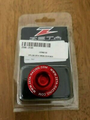 KAWASAKI  KLX250  KLX 250    1993-2014   ZETA OIL FILLER PLUG   RED