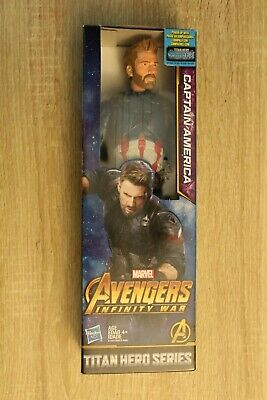 Marvel Avengers Infinity War Captain America Titan Hero Series 12in Figure