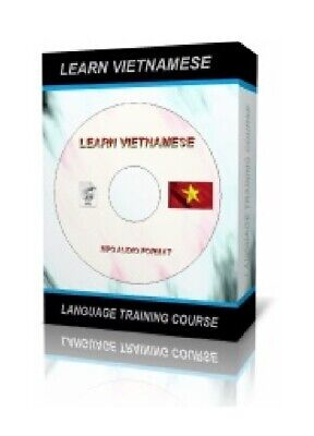 Learn to Speak VIETNAMESE Language Training Course on CD - MP3 AUDIO + TEXTS