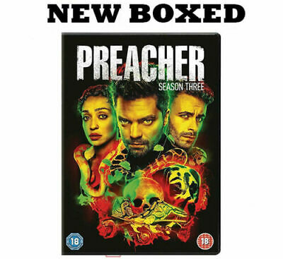 Preacher - Season 3 - The Complete Third 3rd Series New & Sealed UK Region 2 DVD