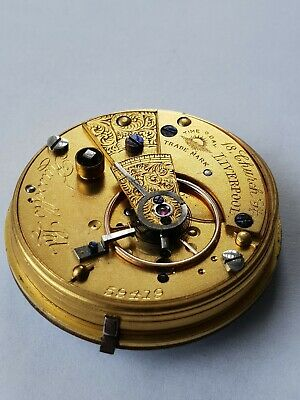 Russell's Fusee Pocket Watch Movement