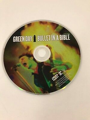 Green Day : Bullet In A  Bible - DVD Disc Only - Replacement Disc