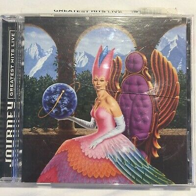JOURNEY - GREATEST HITS LIVE - CD, 1998 COLUMBIA RECORDS - Good Condition