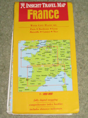 France: Insight Travel Map by APA Publications (Other printed item, 2000)