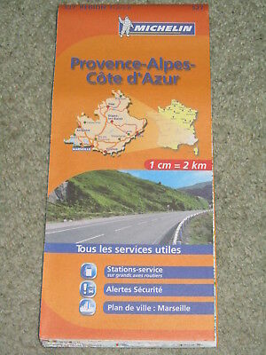 France: Michelin Regional map 527 Provence-Alpes, Cote d'Azur, 1:200,000 - 2012