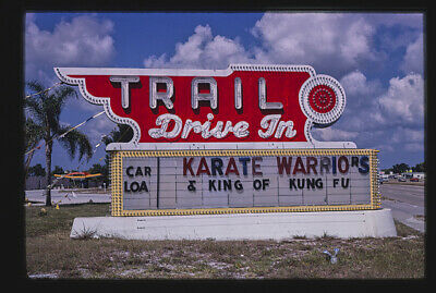 Photo:Trail Drive-In Theater ticket booth,Route 41,Sarasota,Florida
