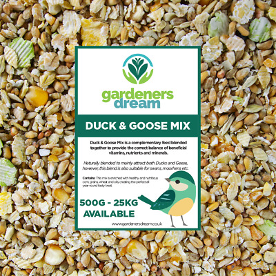 GardenersDream Duck & Goose Mix - Nutritious Food Protein-Rich Feed For Wildlife