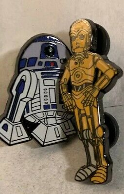 STAR WARS Celebration 2019 C-3P0 & R2-D2 Official Trading Pin New (Fast Ship)