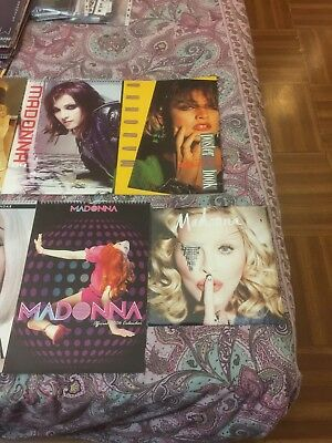 MADONNA CALENDARI UFFICIALI LOTTO PIU' LIBRO-POSTER like new calendar posterbook