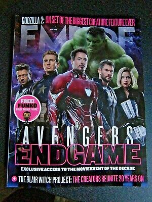 Empire Magazine May Issue 2019 Avengers Endgame  Cover 1(new)