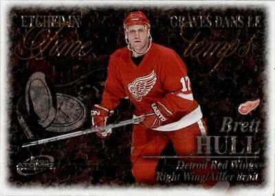 2003-04 Mcdonald's Pacific etched in Time Brett Hull #2