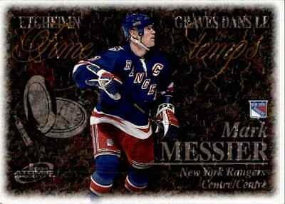 2003-04 Mcdonald's Pacific Etched In Time Mark Messier #4